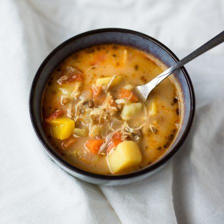 zupa curry z soczewicą